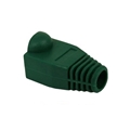 Eagle RJ45 Snagless Boot Green Slide-On RJ-45 Boot Connector Covers, Round UTP Cable Snag-Less Boot Covers for Strain Relief and Plug Tab Protection, Sold as 50 Pack, Part # A080N5