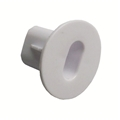 ASKA FTBD-56W Dual Coaxial Feed Thru Wall Bushing 100 Pack White