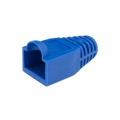 Eagle RJ45 Strain Relief Snagless Boot Blue Slide-On RJ-45 Boot Connector Covers, Round UTP Cable Snag-Less Boot Covers for Strain Relief and Plug Tab Protection, Sold as Singles, Part # AC080B