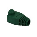 Eagle RJ45 Plug Boot Snagless Connector Cover Green Slide-On RJ-45 Boot Connector Covers, Round UTP Cable Snag-Less Boot Covers, Sold as Singles, Part # AC080N