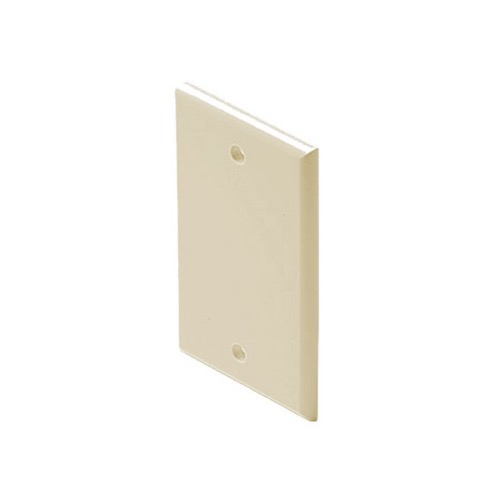 Steren 200 418iv Midsize Wall Plate Ivory Oversize Blank Cover 3 18