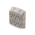 Eagle 6 Outlet Wall Surge Protector Suppressor Plug In 370 Joules US 15 Amp Wall Mount 3-Wire 15 Amp Surge Protector 120 VAC 6 Outlet Wall Mount Surge Protector