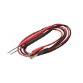 Steren 601-500 Test Probes 3' FT Multi Meter Banana Plugs Black Red Pair REPL Test Leads Banana Plugs to Test Probes 3' FT Length, Heavy Duty Design, Part # 601500