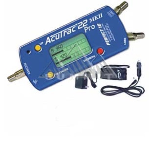 Acutrac 22 Pro MKII New and Improved Satellite Signal Meter Kit DIRECTV  with Accessories Locator Dual LNBF Alignment DIRECWAY Super Dish 22 KHz