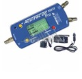 Acutrac 22 Pro MKII New and Improved Satellite Signal Meter Kit DIRECTV with Accessories Locator Dual LNBF Alignment DIRECWAY Super Dish 22 KHz Switching, Rechargeable Battery, Part # ACUTRAC22PRO MKII