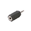 Steren 251-002 2.5mm Male to 3.5mm Female Adapter Stereo 3.5 mm Female to 2.5 mm Male Stereo Headphone Audio Jack Signal MP3 Plug Connector, Part # 251002