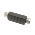 Steren 251-152 S-Video VHS to RCA Female Adapter RCA F to S-Video Coupler with Gold Plated Contacts Stereo Cable Connector Audio Video Tool Less Hook-Up Component Connector, Part # 251152