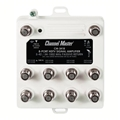 Channel Master 3045 Multi-Set Indoor Distribution Amplifier with Return Path CM3045 8 Output Distribution Amp Off-Air Antenna HDTV Local Signal Television Aerial Booster
