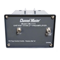 Channel Master Titan 2 7777 Antenna Signal Amplifier VHF/UHF TV Preamplifier with Power Supply High Gain Off-Air HDTV Aerial Antenna Booster, Part # CM-7777: Open Box Item