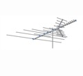 AntennaCraft CCS1025 CCS Series VHF / UHF / FM HD Antenna CCS-1025 30 Element Outdoor Off-Air Local High Definition Digital HDTV Signal Television Aerial, RED ZONE, Part # CCS-1025 | With 50' FT Coax Cable