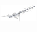 VHF FM HDTV Digital Long Range Antenna Terrestrial Off-Air AntennaCraft CS1100 HD Antenna 33 Electronic Elements Extreme Deep Fringe Area Directional TV Aerial CS Series Outdoor Television Local Signal Reception, BLUE ZONE, Part # CS-1100