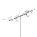 AntennaCraft HD1850 Heavy Duty VHF / UHF / FM TV HD TV Antenna Outdoor 84 Element Off-Air Local High Definition Digital Signal HDTV Television Aerial 50 FT RG6 Coax With Gold F Connectors, BLUE ZONE, Part # HD-1850