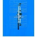 Electronic Master ANT-2087 4-Bay UHF Outdoor Antenna Digital HDTV High Gain UHF Bow-Tie 470 - 862 MHz CH 21 - 69 Gain 10 - 13 dB Heavy Duty Design Four Bay UHF HD TV Aerial, LIGHT GREEN ZONE, Part # ANT2087