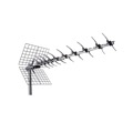 DIGIWAVE ANT-2104 UHF Yagi Antenna Digital Outdoor HDTV 47 Element Directional Ultra Clear Pre-Mounted 470 - 862 MHz Ch 21 - 69 Gain 11 - 15 dB High Gain Heavy Duty UHF HD Aerial, RED ZONE, Part # ANT2104 | With 50' FT Coaxial Cable