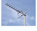 Channel Master 4308 UHF HDTV Ready Magnadyne Antenna Digital Corner Reflector Diamond Yagi Outdoor Roof Top HD TV CM4308 14 Element Suburban Off-Air Local Signal Aerial, LIGHT GREEN ZONE, Part # CM-4308 | With 50' FT Coax Cable