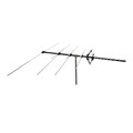 Channel Master CM-5018 Masterpiece Antenna Series Fringe Outdoor Digital VHF UHF FM HDTV Heavy Duty 80 Mile Fringe Areas | RED ZONE, Part #AN-5018 With 50' FT Coax Cable