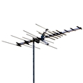 Winegard HD7694 High Definition VHF/UHF HD769 Series Hd-7694 Antenna 28 Element Off-Air Local HDTV Digital Signal Channel Outdoor Television Aerial, RED ZONE, Part # HD7694 | With 50' FT RG6 Coax Cable