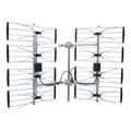 DIGIWAVE ANT-7285 8-Bay DB8 HDTV Outdoor Multi-Directional 35 dB Ultra Clear Antenna UHF Heavy Duty Design TV Antenna CH 21 - 69 70 Mile Range UHF HD TV Aerial, BLUE ZONE, Part # ANT7285 | With 50' FT Coaxial Cable