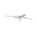 Channel Master 2001 Bi-Directional Digital UHF / VHF / FM Television Antenna Advantage 9 Element CM2001 HDTV Local TV Signal Off-Air Fringe Outdoor Aerial, LIGHT GREEN ZONE, Part # CM-2001