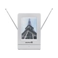 DIGIWAVE ANT-4000 Amplified HDTV Digital Indoor Antenna with Smart Technology Off-Air Gain 26 dB VHF 28 UHF Max Output 100 dB Picture Frame Photo Insert ATSC Local Television HD Indoor Amplified TV Aerial, Part # ANT4000