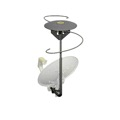 Eagle Outdoor TV Antenna Omni Directional Amplified VHF/UHF Satellite Dish Add On Digital HDTV Multi Directional Off-Air Local HDTV Signal Multi-Directional Aerial with Built-In Diplexer for Single LNB Systems, Part # EZD-100