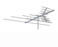 AntennaCraft CCS822 TV Antenna VHF / UHF / FM 26 Element Outdoor Off-Air Local High Definition Digital Signal HDTV Television Aerial, LIGHT GREEN ZONE, Part # CCS-822 | With 50' FT Coax Cable
