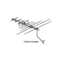 AntennaCraft HBU11K High Band VHF UHF Digital Ready HDTV Antenna with J-Mount Outdoor 13 Element Off-Air Local HD Television Aerial, GREEN ZONE, Part # HBU-11K