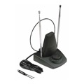 Eagle ANT200 Indoor TV Antenna with SMART Tuner UHF VHF FM Digital HDTV Signal UHF/VHF/FM HDTVDigital Tunable Local Channel Signal Aerial with Smart Tuner, Part # PCP010