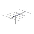 AntennaCraft FM6 FM Antenna 6 Electronic Elements Triple Driven Directional Near Fringe Outdoor Radio Station Signal Digital Off-Air