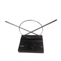 Eagle Indoor TV Antenna Dipole UHF VHF FM HDTV Digital Single Loop Ready U/V/F Single Loop 6 Position Rotary Switch High Definition Aerial, Part # GEM10