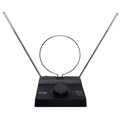 Gemini Indoor TV Antenna UHF / FM / VHF HDTV Digital Ready U/V/F TV Antenna Local HD TV Aerial with 6 Position Rotary Switch and Dipoles, 75 - 300 Ohm, Part # TV3