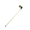"6"" Inch UHF TV Remote Control Satellite Dish Receiver Antenna Replacement with F Type Coax Cable Plug Component Connector, Right Angle Whip"