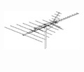 Winegard PR-7037 ProStar HDTV Antenna VHF / UHF / FM Outdoor 39 Element Off-Air Local High Definition Signal Digital Television Aerial, BLUE ZONE, Part # PR7037 | With 50' FT Coax Cable