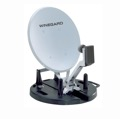 "Portable RV Satellite 18"" Dish Antenna RD-9046 Winegard RD9046 Digital Antenna Folding Remote DSS DBS Digital TV Signal with LNBF, Light Weight Base Camping / Tail Gating Unit, TV To Go, Part # RD-9046"