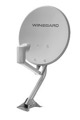 "Dish Network 300 18"" Inch Satellite Dish Winegard DS4047 HDTV Digital D-Tube Channel 46 cm Antenna DIRECTV Universal Rooftop DSS DBS Digital Signal, Part # DS4047"