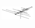 Winegard HD7078P VHF UHF TV Antenna Platinum HD-7078 29 Element HDTV Local Off-Air Outdoor HDTV Digital Signal Aerial, RED ZONE, Part # HD-7078P | With 50' FT Coax Cable