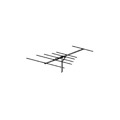 Winegard YA-6260 ProStar 1000 Yagi Low Band VHF TV Antenna YA6260 Outdoor 6 Element Channel 2-6 High Definition Off-Air Local Channel Signal Aerial, RED ZONE, Part # YA6260 | With 50' FT Coax Cable