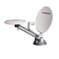 Winegard RM-4610 RV Satellite Dish TV Antenna Crank-Up Omni-Directional VHF UHF Signal Digital with LNBF, No Digital Magic Sensor, Part # RM4610