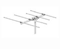 Winegard HD-6000 FM Stereo Antenna ProStar PR-6000 4 Element Yagi Outdoor Local Off-Air Reception Digital Radio Station Signal Rooftop Aerial, 75 Ohm Suburban Directive, Part # HD6000