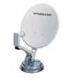Winegard RMDM46 RV Crank-Up Digital Satellite TV Dish with Digital Magic and Dual LNBF, Compact Travel, Roof Mount, LCD Readout, Retractable Sensor, Part # RMDM46