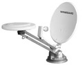 Winegard RM-DM61 RoadStar RV Satellite Dish Omni-Directional TV Antenna Camper Outdoor Combination Off-Air VHF / UHF Crank-Up Digital Local Signal Broadcast Combo Travel Aerial with Digital Magic and LNBF, Part # RMDM61