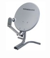 "Winegard PM-2000 Carry-Out Portable RV Satellite Dish TV Antenna 18"" Camper Mobile Sat Digital Signal Reception with LNBF, Part # PM-2000"