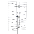 Fracarro PU4AF-LTE UHF 4 Bay Directional Antenna Plus 50 FT RG6 Coax Cable