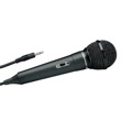 "Eagle Dynamix Microphone Unidirectional 8 FT Cord 1/4 6.3 mm Plug Mono Multi Purpose Cardiod Pattern Shield Cable with 1/4"" Mono Audio Plug, Black Finish, Part # 270100-BK"