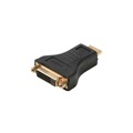Steren 516-008 HDMI to DVI Adapter DVI Female to HDMI Male Cable Adapter Plug Video Digital Gold Plated Contacts Pure Copper Premium Resolution, Part # 516008