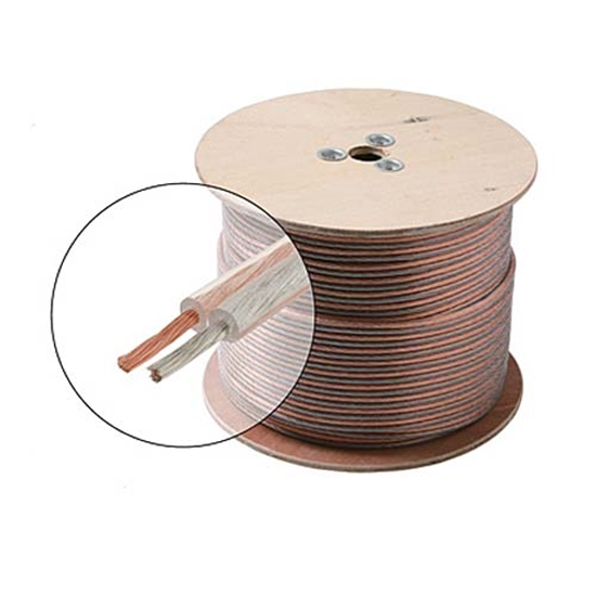 Steren 255-314CL 1000\' FT 14 AWG GA Speaker Cable Wire 2 Conductor ...
