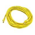 Steren 308-614YL 14' FT Yellow CAT5e Patch Cable 23 AWG Copper UTP 350 MHz Molded Booted RJ45 Network Snagless 24 AWG Stranded Male to Male RJ-45 Enhanced Category 5e High Speed Ethernet Data Computer Gaming Jumper, Part # 308614-YL
