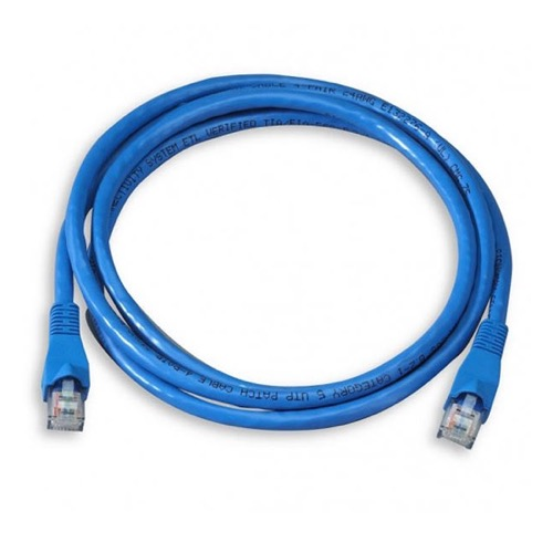 Blue 14-ft Cat5e Snagless Patch Cable