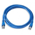 Eagle 25' FT CAT5E Patch Cord Cable Blue 350 MHz UTP Snagless RJ45 Connector Each End Lan Network Gold Plated 100% Tested 24 AWG Copper Stranded Enhanced Category 5e High Speed Ethernet Data Computer Gaming Jumper