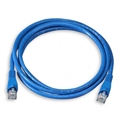 Eagle 3' FT CAT5e Patch Cord Blue Snagless RJ45 23 AWG Copper Network Ethernet 350MHz RJ-45 Lan Network Enhanced for High Speed Ethernet Data / Telephone Audio Signal Communication Network Distribution, Computer Gaming Jumper